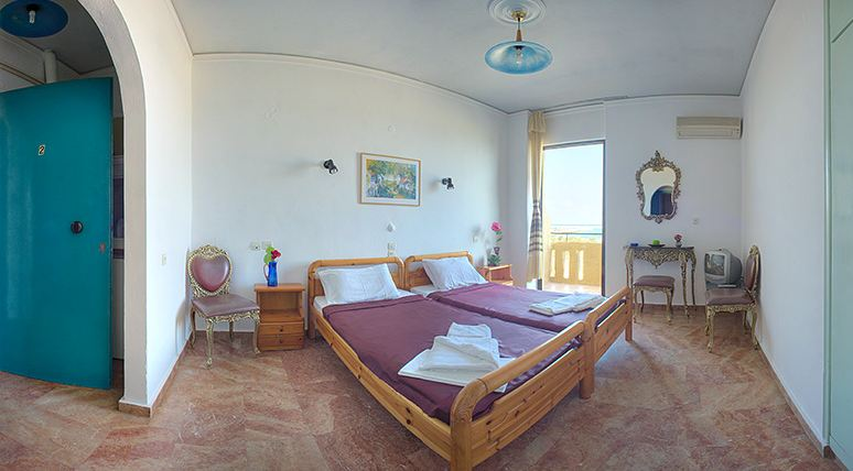 Accommodation at Rethymno, Crete - The Sea-View Apartments